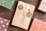 Бумажный пакет под выпечку 170*30*230 мм бурый крафт пакет саше, фото 6