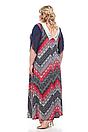 Платье большого размера В-1011 (2 цвета), фото 6