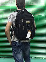 Рюкзак с брезента Goldbe (большой) 50х30х20 черный
