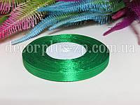 Лента атласная 0,6см (36 ярдов), зеленая