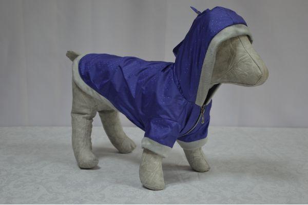 Курточка для собаки утепленная  Сильвер 21*27