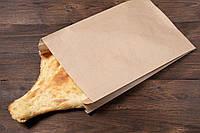 Бумажные пакеты для хлеба и выпечки 220 мм*80 мм*380 мм бурый