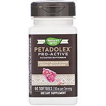 """Экстракт белокопытника Nature's Way """"Petadolex Pro-Active"""" 50 мг (60 капсул)"""