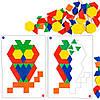"Мозаика ""Геометрик"" с карточками (100 элементов) EDX Education, фото 3"