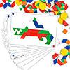 "Мозаика ""Геометрик"" с карточками (100 элементов) EDX Education, фото 5"