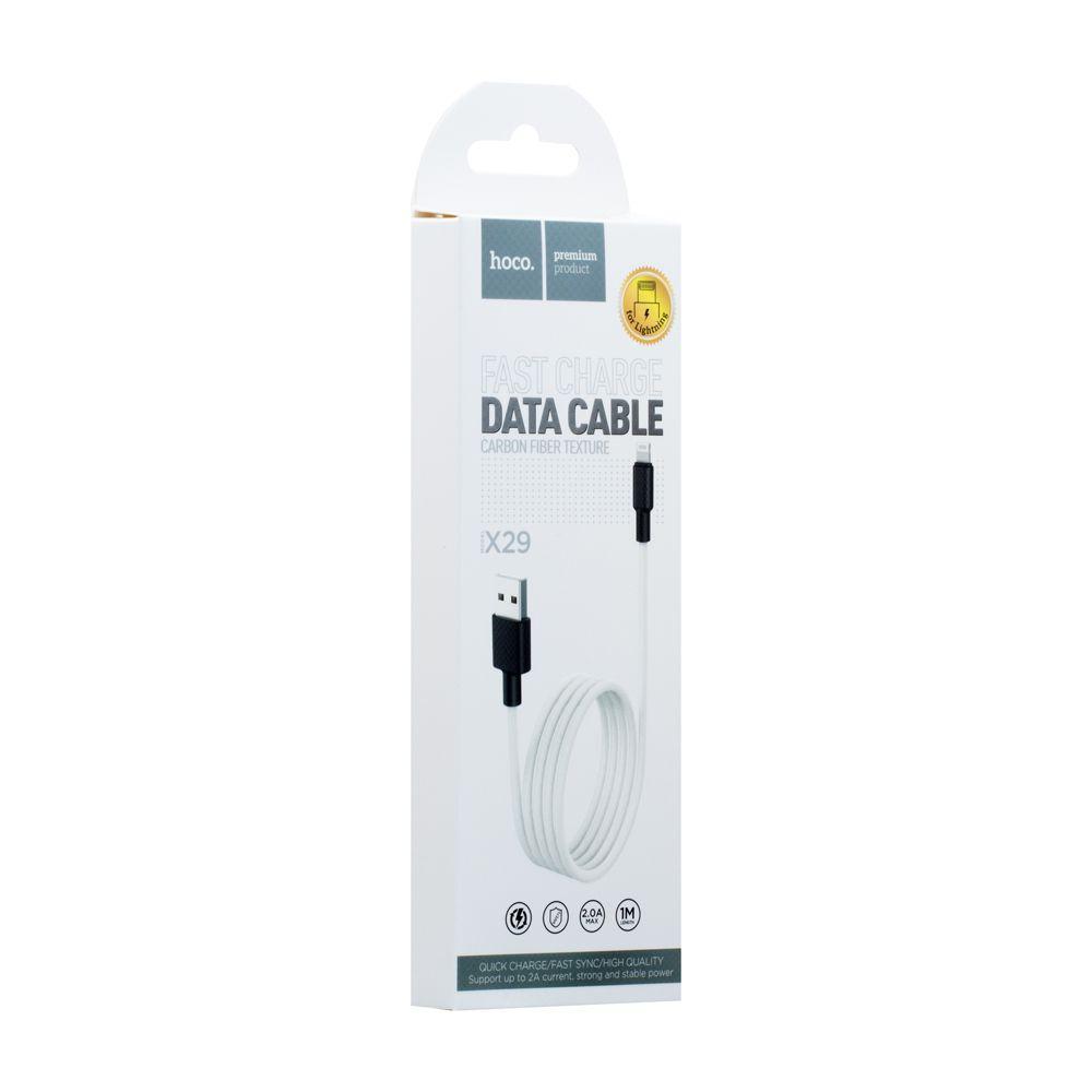 USB кабель Hoco X29 Superior Style Lightning (1м, белый)