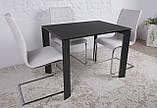 Стеклянный раскладной стол BRISTOL B 130/200*85 графит Nicolas (бесплатная адресная доставка), фото 10