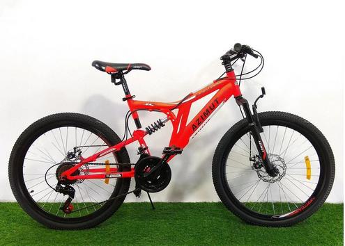 """Горный велосипед 26 дюймов Azimut Blackmount 26"""" GFRD RED"""