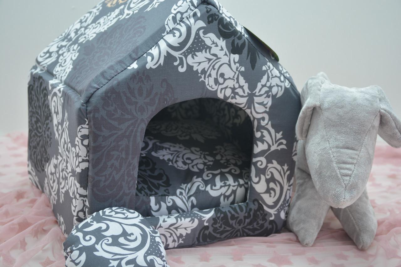 Домик для собак и котов бязь 345*390*385