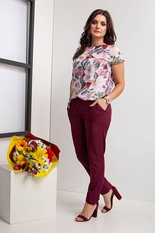 Жіночий брючний костюм розміри 44-46,48-50,52-54,56-58,62-64, фото 2