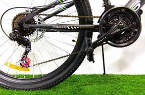 """Горный велосипед 26 дюймов Azimut Blackmount 26"""" GREY RED, фото 2"""