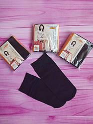 Капроновые женские носки, 5 шт.  цвет черный, 22-28 см.