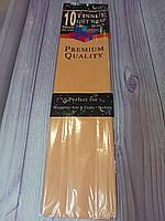 Бумага тишью, персик 50*70 см, 10 листов