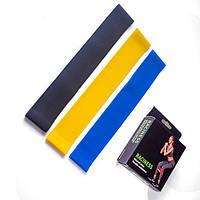 Набор резинок для фитнеса Raciness комплект 3 шт