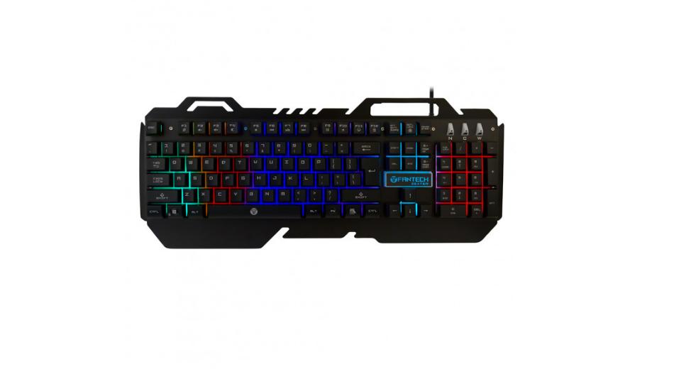 Игровая клавиатура мембранная с подсветкой Fantech Zexter K610