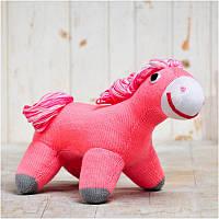 Вязаная кукла ФРЕЯ «Лошадка Волошка»
