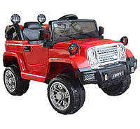 Детский электромобиль джип Range RoverT-7838RED Bluetooth, красный