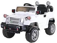 Детский электромобиль джип Range RoverT-7838WHITE Bluetooth, белый