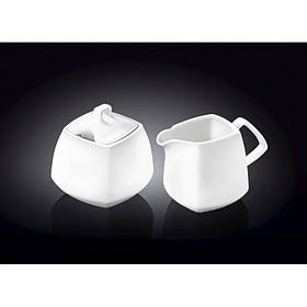 Набор сахарница и молочник WILMAX 2 предмета Color 995028 / 2C WIL