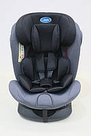 Детское автомобильное кресло LINDO Черный (HB 636)