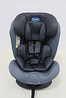 Детское автомобильное кресло LINDO Серый (HB 636)