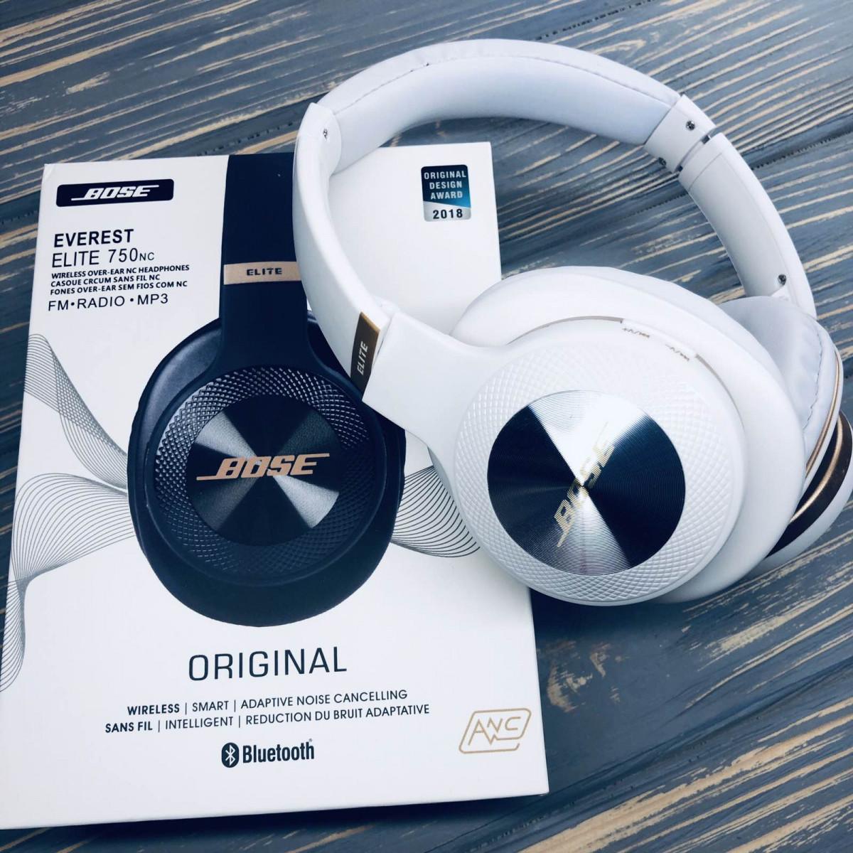 Бездротові навушники Bluetooth Bose Everest Elite V750NC Білі