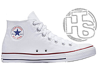 Женские кеды Converse Chuck Taylor All-Star Ox High-Top White M7650C