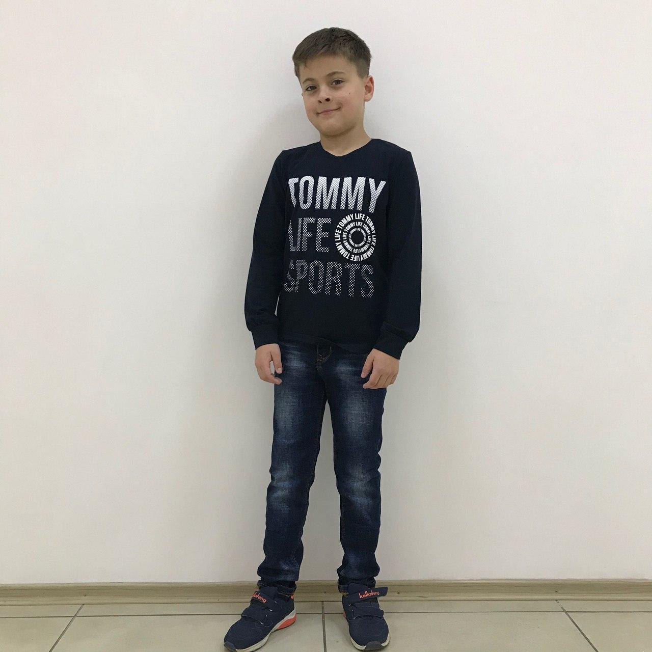 Детский реглан (футболка с длинным рукавом) Tommy Life