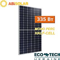 Солнечные батареи ABi-Solar АВ-60MHC 335 Вт, PERC, Half-Cell, mono