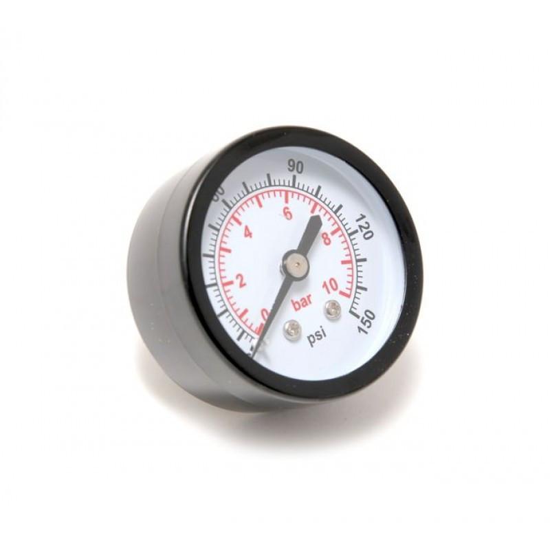 """Индикатор давления манометр 1/4"""" 10bar (D-40мм)"""