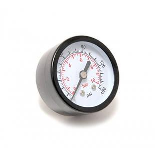 """Индикатор давления манометр 1/4"""" 10bar (D-50мм)"""