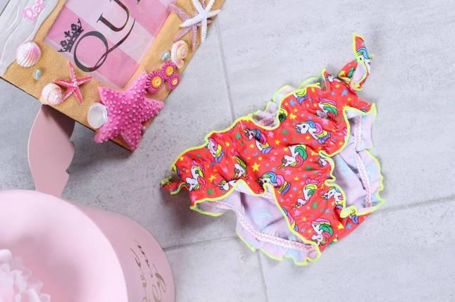 Плавки SAME GAME для девочек Кирочка 842 коралл (есть  30  размеры), фото 2