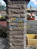 Кирпич скала углово-тычковой 220х65х100мм, фото 9