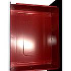 Тележка инструментальная  6-полочная с набором инструментов 154пр (черно-красная) и доп.секцией, фото 3
