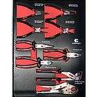 Тележка инструментальная  6-полочная с набором инструментов 154пр (черно-красная) и доп.секцией, фото 6