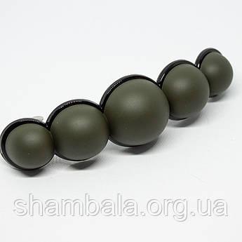 "Заколка-автомат ""Пузырьки"" зеленая (076515)"