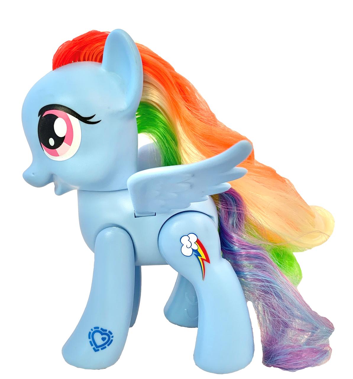Игрушка-фигурка Hasbro Рейнбоу Деш, Мой маленький Пони, 15 см - Rainbow Dash,My Little Pony  Explore Equestria