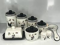 """Набор керамических емкостей для хранения продуктов """"Гурман"""""""