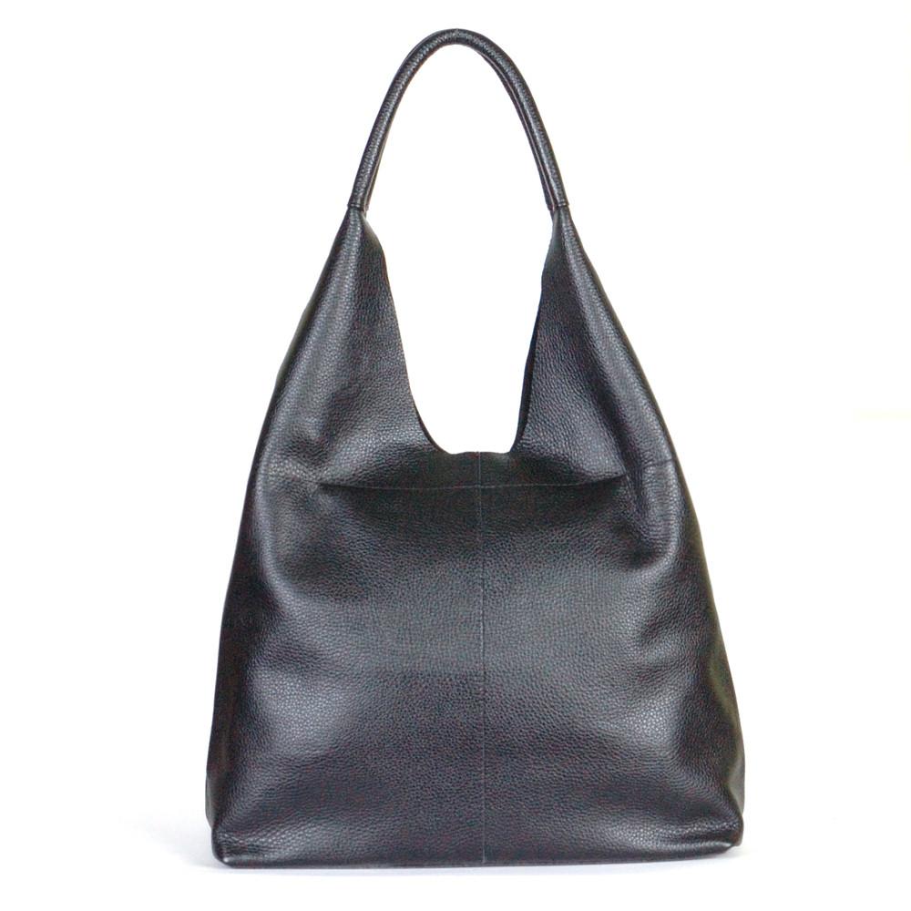Женская сумка кожаная 48 черная