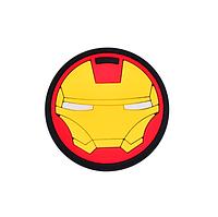 Держатель для телефона/планшета Popsocket Cartoon Soft Series Iron Man (Железный Человек)
