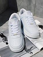 ТОР MODEL! Кроссовки белые Nike Air Force Кросівки Найк Аір Форс Білі, фото 1