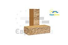 Кирпич половинка колотая, тычковой 230х65х67мм