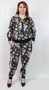 Турецкий женский костюм в спортивном стиле, размеров 48-56