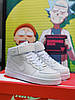 Кроссовки Nike Air Force High White
