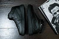 Скидка 35% Кроссовки черные Nike Air Force High Black, фото 1