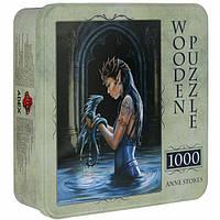 Деревянный пазл Водный Дракон на 1000 элементов