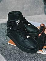 Кроссовки Найк Аир Форс  / Nike air force Colors белые , черные , высокие, низкие ! Найк Аір Форс !, фото 1