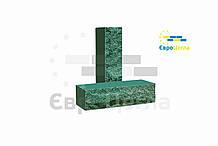 Цегла ложковой скеля 250х57х65мм (половинка)