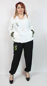 Турецкий женский костюм в спортивном стиле, размеров 52-64