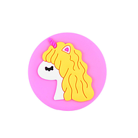 Держатель для телефона/планшета Popsocket Cartoon Soft Series Unicorn Pink (Единорог)